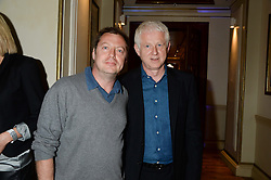 Left to right, MATTHEW FREUD and RICHARD CURTIS at an evening with Al Pacino held at The London Palladium, London on 2nd June 2013.