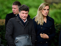 © Licensed to London News Pictures. 01/02/2017. Watford, UK. Current Watford CF manager WALTER MAZZARRI attends The funeral of former England football team manager Graham Taylor at St Mary's Church in Watford, Hertfordshire. The former England, Watford and Aston Villa manager,  who later went on to be chairman of Watford Football Club, died at the age of 72 from a suspected heart attack. Photo credit: Ben Cawthra/LNP