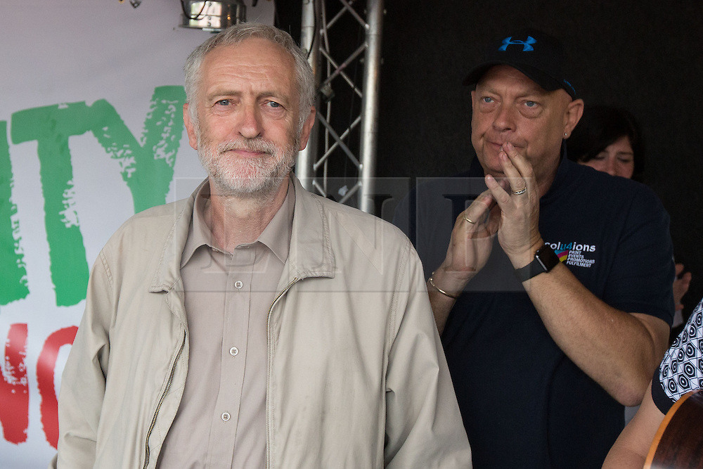 **File picture. Unite union have selected Jeremy Corbyn as their preferrence to be the next Labour Party leader**© Licensed to London News Pictures . 20/06/2015 . London , UK . JEREMY CORBYN in Parliament Square . Tens of thousands of people march from the Bank of England to Parliament , to protest economic austerity in Britain . Photo credit: Joel Goodman/LNP