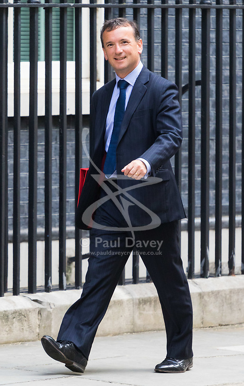 London, June 20th 2017. Welsh Secretary Alun Cairns attends the weekly cabinet meeting at 10 Downing Street in London.