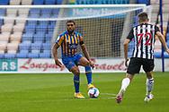 Ro-Shaun Williams during the EFL Trophy match between Shrewsbury Town and U21 Newcastle United at Greenhous Meadow, Shrewsbury, England on 22 September 2020.