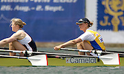 Munich, GERMANY, 2006, GBR W4X Frances Houghton and Sarah Winckless, FISA, Rowing, World Cup, on the Olympic Regatta Course, Munich,Sat.  27.05.2006. © Peter Spurrier/Intersport-images.com,  / Mobile +44 [0] 7973 819 551 / email images@intersport-images.com.[Mandatory Credit, Peter Spurier/ Intersport Images] Rowing Course, Olympic Regatta Rowing Course, Munich, GERMANY
