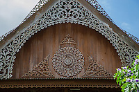 """Pratubjai House Phrae - Baan Pra Tub Jai or """"House of 100 poles"""" is an old teak mansion which exhibits teak wood furniture as well as artifacts of the Phrae region. The house was built of teak - it has been said that the house used the world's largest amount of teakwood in one building."""