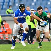Roma 27/02/2021, Stadio Olimpico<br /> Guinness Six Nations 2021<br /> Italia vs Irlanda <br /> <br /> Maxime Mbanda'