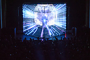 WASHINGTON, DC - October 13th, 2014 - Flying Lotus performs at the Lincoln Theater in Washington, D.C. His fifth studio album, You're Dead, was released last week to great acclaim from Pitchfork, NME, The Guardian and many others. (Photo by Kyle Gustafson / For The Washington Post)