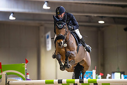 Kooremans Raf, BEL, Juloo Castanoo<br /> Klasse Zwaar<br /> Nationaal Indoor Kampioenschap Pony's LRV <br /> Oud Heverlee 2019<br /> © Hippo Foto - Dirk Caremans<br /> 09/03/2019
