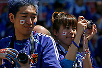 Photo: Glyn Thomas.<br />Australia v Japan. Group F, FIFA World Cup 2006. 12/06/2006.<br /> Japanese fans takes photos of the match.