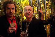 DAMIEN HIRST, White cube party. Soho House, Miami Beach. Miami Art Basel 201. 29 November 2011.