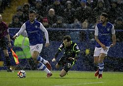 Sheffield Wednesday's George Boyd fouls Carlisle United's Jamie Devitt