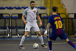 November 22, 2017 - Pescara, PE, Italy - Tevfik Ceyar of 't Knooppunt in action during the Elite Round of UEFA Futsal Cup 17/18 match between FC Barcelona and ZVV 'T Knoppount at Giovanni Paolo II arena on November 22, 2017 in Pescara, Italy. (Credit Image: © Danilo Di Giovanni/NurPhoto via ZUMA Press)