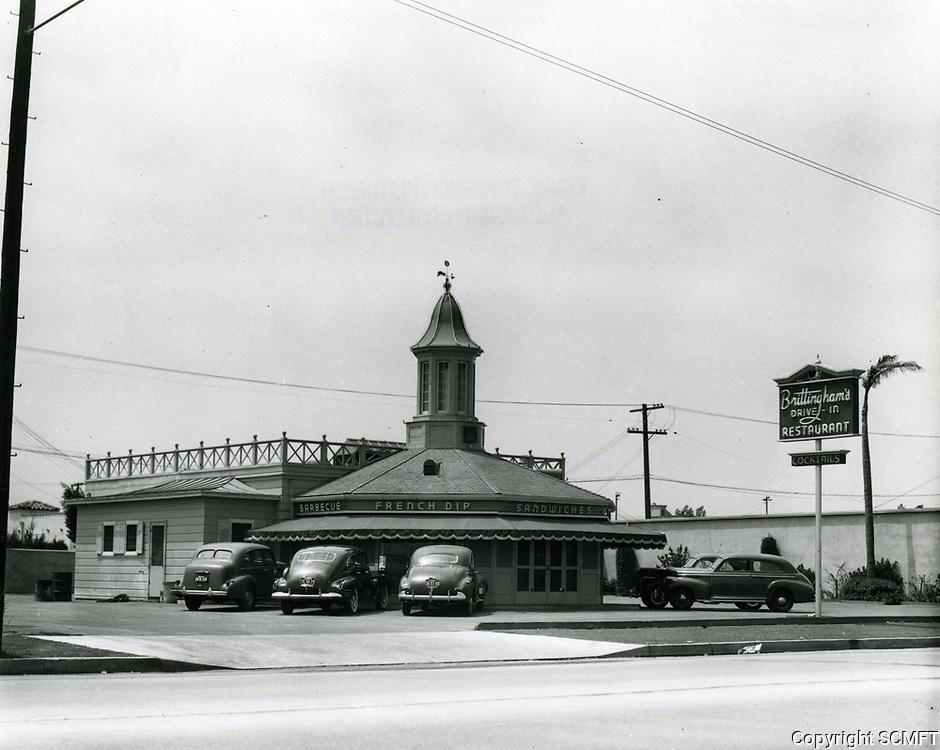 1945 Brittingham's Drive In on La Cienega Blvd.