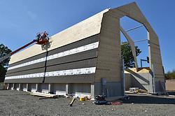 Construction Progress Photograph, Sea Street Salt Storage Facility, New Haven. Progress Documentation Submission 5.