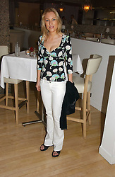IMOGEN LLOYD WEBBER at a party to celebrate the launch of Amy Sacco's book 'Cocktails' held at Sanderson, 50 Berners Street, London W1 on 10th July 2006.<br />