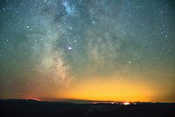 September 14, 2017 - Diamond Creek Wildfire 2017, Milky Way, North Cascade Mountain Range, Penticton, British Columbia, Canada (Credit Image: © Image Source via ZUMA Press)