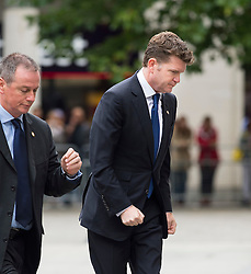 © Licensed to London News Pictures. 07/07/2015. London, UK. US Ambassador to the UK, MATTHEW BARZUN. A church service held at St Paul's Cathedral In London on the 10th anniversary of the 7/7 bombings in London which killed 52 civilians and injured over 700 more.  Photo credit: Ben Cawthra/LNP