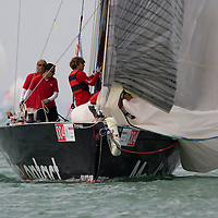 41st Blue Ribbon Regattta race along the 160 km course around Lake Balaton near Balatonfured, 150 km (93 miles) west of Budapest. Hungary. Friday, 03. July 2009. ATTILA VOLGYISailing ship Media Contact during the 41st Blue Ribbon Regattta race along the 160 km course around Lake Balaton near Balatonfured, 150 km (93 miles) west of Budapest. Hungary. Friday, 03. July 2009. ATTILA VOLGYI