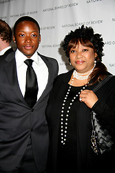 Jan. 12, 2010 - New ork, New ork, United States - The National Board of Review of Motion Pictures Awards Gala.Cipriani 42nd St, NC. 01-12-2009.Photos b  ,   Photos Inc 2010.ZINDZI MANDELA AND  ZWELABO MANDEL.K63971SMO (Credit Image: © Sonia Moskowitz/ZUMA Wire)