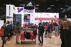 April 6, 2018 - Paris, France - Stand Intersport (Credit Image: © Panoramic via ZUMA Press)