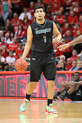 18 March 2015:   Kerem Kanter during an NIT men's basketball game between the Green Bay Phoenix and the Illinois State Redbirds at Redbird Arena in Normal Illinois