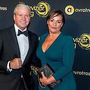 NLD/Amsterdam/20191009 - Uitreiking Gouden Televizier Ring Gala 2019, Dries Roelvink en partner Honoria