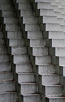 Washington DC, National Gallery. Sculpture Park, concrete steps