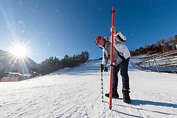 19.12.2017, Hochstein, Lienz, AUT, FIS Weltcup Ski Alpin, Lienz, FIS Schneekontrolle, im Bild Siegfried Vergeiner (Ski Club Lienz Präsident) // Siegfried Vergeiner (Ski club president) during the FIS snow control prior to at FIS Ski Worldcup at th Hochstein in Lienz, Austria on 2017/12/10, EXPA Pictures © 2017, PhotoCredit: EXPA/ Johann Groder
