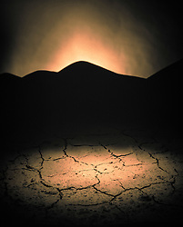 Desert floor, cracked, parched earth. CONCEPT STOCK PHOTOS DESIGN STOCK PHOTO Nature, stock photo