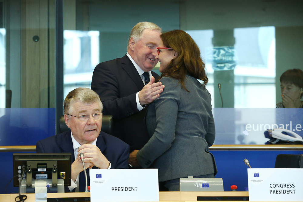 12 May 2017, 123rd Plenary Session of the European Committee of the Regions <br /> Belgium - Brussels - May 2017 <br /> <br /> Mr Markku Markkula, President of the European Committee of the Regions (CoR)<br /> <br /> © European Union / Patrick Mascart