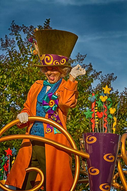 The Mad Hatter at Walt Disney World.