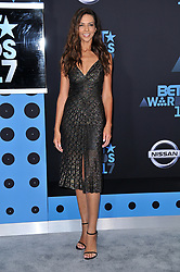 Terri Seymour at the 2017 BET Awards held at Microsoft Theater on June 25, 2017 in Los Angeles, CA, USA (Photo by Sthanlee B. Mirador) *** Please Use Credit from Credit Field ***