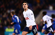 Erik Lamela of Tottenham Hotspur looks on. Premier league match, Leicester City v Tottenham Hotspur at the King Power Stadium in Leicester, Leicestershire on Tuesday 28th November 2017.<br /> pic by Bradley Collyer, Andrew Orchard sports photography.