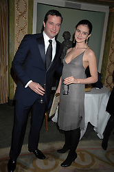 JAMES PUREFOY and JESSICA ADAMS attending the 27th Awards of the London Film Critics' Circle 2007 in aid of the NSPCC held at The Dorchester, Park Lane, London on 8th February 2007.<br /><br />NON EXCLUSIVE - WORLD RIGHTS