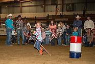 Stick Horse Barrel Racing