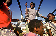 Travelling on the back of a truck to Tadjoura,  Republic of Djibouti. Tadjura is the oldest town in Djibouti and the third largest city in the country with a population of some 25,000.