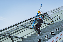 31.12.2020, Olympiaschanze, Garmisch Partenkirchen, GER, FIS Weltcup Skisprung, Vierschanzentournee, Garmisch Partenkirchen, Qualifikation, Herren, im Bild Luca Roth (GER) // Luca Roth of Germany during qualification jump of men's Four Hills Tournament of FIS Ski Jumping World Cup at the Olympiaschanze in Garmisch Partenkirchen, Germany on 2020/12/31. EXPA Pictures © 2020, PhotoCredit: EXPA/ JFK