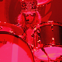 ST. PAUL, MN - MARCH 26: Halestorm drummer Arejay Hale performs during the 2011 Avalanche Tour at the Roy Wilkins Auditorium on Saturday, March 26, 2011 in St. Paul, Minnesota.  (Photo by Adam Bettcher/Getty Images) *** Local Caption *** Arejay Hale