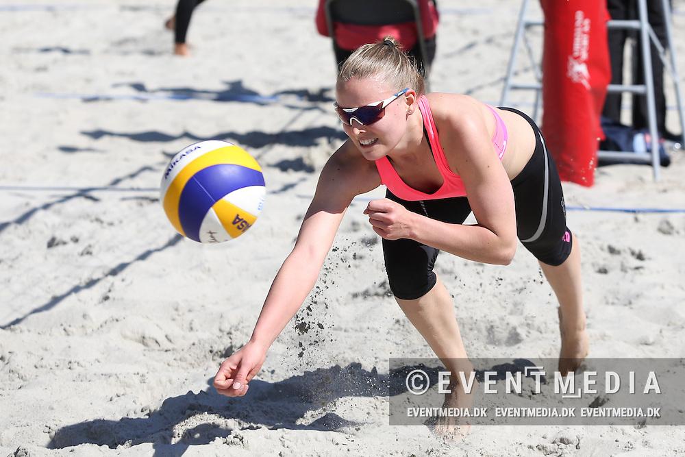 NEVZA Zonal beachvolley tournament for women in Odense, Denmark, 24.5.2015. (Allan Jensen/EVENTMEDIA).