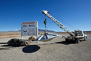 UNITED STATES-RACHEL- Extraterrestrial Highway. VERENIGDE STATEN-RACHEL- Extraterrestrial Highway. PHOTO GERRIT DE HEUS
