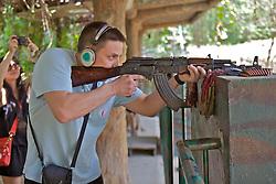 Firing Weapon (AK-47) On Range