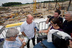 Coach of NK Olimpija Brane Oblak at open door day 1 year before opening of new football stadium and sports hall in Stozice,  on June 30, 2009, at Stadium Stozice, Ljubljana, Slovenia. (Photo by Vid Ponikvar / Sportida)