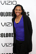 25 October 2010- New York, NY- Marion Jones at Tyler Perry's World Premiere of the Film 'For Colored Girls ' an Adaptation of Ntozake Shange's play ' For Colored Girls Who Have Considered Suicide When the Rainbow Is Enuf.' held at the Zeigfeld Theater on October 25, 2010 in New York City.