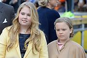 Koningsdag 2017 in Tilburg / Kingsday 2017 in Tilburg<br /> <br /> Op de foto / On the photo: Prinses Ariane en Amalia / Princess Ariane and Amalia