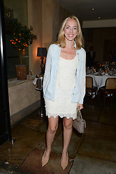 VICTORIA PATTINSON at an evening of Dinner & Dancing at Daphne's, 112 Draycott Avenue, London SW3 on 24th July 2013.