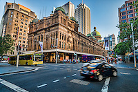 The Queen Victoria Building, Market & York Streets