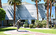 Paratrooper Statue and Memorial Walk at the Palm Springs Air Museum