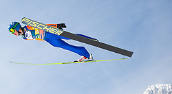 23.03.2013, Planica, Kranjska Gora, SLO, FIS Ski Sprung Weltcup, Skifliegen, Team, Probedurchgang, im Bild Krzysztof Mietus (POL) // Krzysztof Mietus of Poland during his trial jump of the FIS Skijumping Worldcup Team Flying Hill, Planica, Kranjska Gora, Slovenia on 2013/03/23. EXPA Pictures © 2012, PhotoCredit: EXPA/ Juergen Feichter
