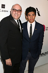 February 24, 2019 - West Hollywood, CA, USA - LOS ANGELES - FEB 24:  Willie Garson, Nathen Garson at the Elton John Oscar Viewing Party on the West Hollywood Park on February 24, 2019 in West Hollywood, CA (Credit Image: © Kay Blake/ZUMA Wire)
