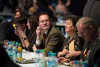 DEU, Deutschland, Germany, Berlin,26.02.2018: Tankred und Dagmar Schipanski (CDU) beim Parteitag der CDU in der Station. Die Delegierten stimmten mit großer Mehrheit für die Neuauflage der Großen Koalition (GroKo).