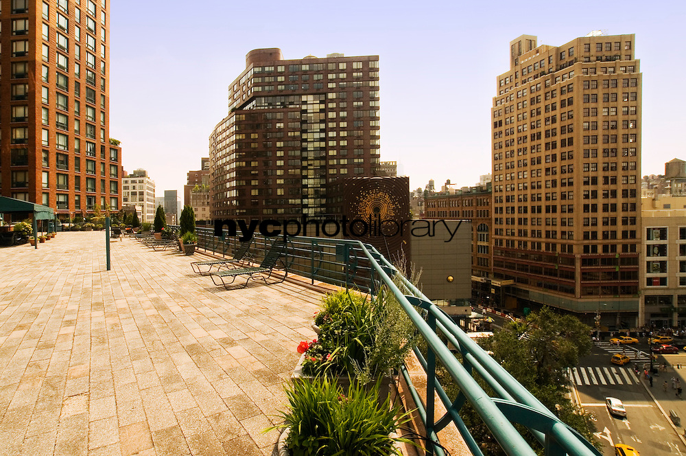 Roof Deck at 1 Irving Place