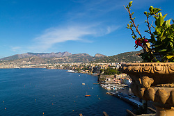 Sorrento, Italy, September 18 2017.  Sorrento, Italy, basks in the afternoon sun. © Paul Davey
